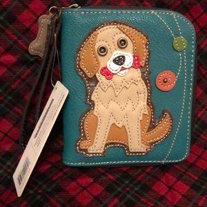 Chala golden retriever wallet